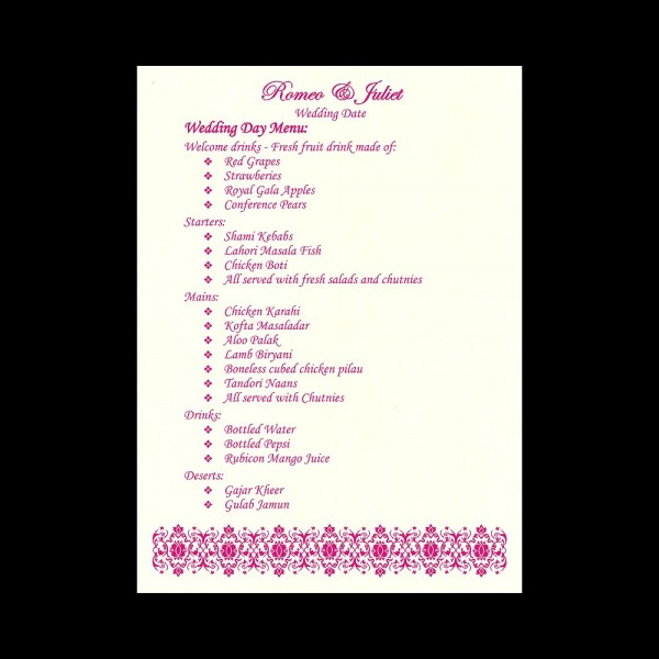Menu-1 (Menu Card View)