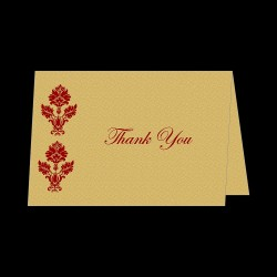 Table-62 (Thank You Card Folded View)
