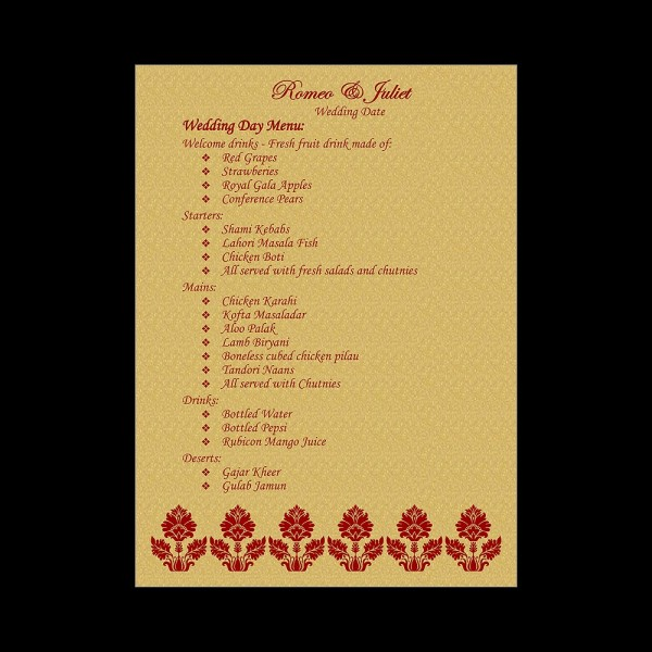 Menu-62 (Menu Card View)
